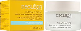 Духи, Парфюмерия, косметика Крем для обезвоженной кожи лица - Decleor Hydra Floral Hydrating Rich Cream