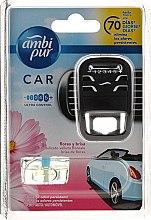 Духи, Парфюмерия, косметика Набор для ароматизации автомобиля - Ambi Pur Car Air Freshener For Her (freshener/1szt+refill/7ml)