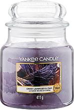 """Духи, Парфюмерия, косметика Ароматическая свеча """"Лаванда и кедр"""" в банке - Yankee Candle Dried Lavender & Oak"""