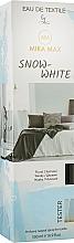 Парфумерія, косметика Парфумований освіжувач для текстилю + тестер - Mira Max Snow-White