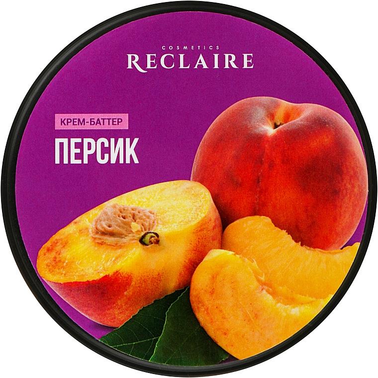 "Крем-баттер для тела ""Персик"" - Reclaire"