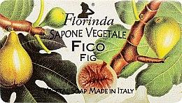 """Духи, Парфюмерия, косметика Мыло натуральное """"Инжир"""" - Florinda Sapone Vegetale Fig"""