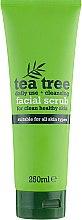 Духи, Парфюмерия, косметика Скраб очищающий для лица с чайным деревом - Xpel Marketing Ltd Tea Tree Cleansing Facial Scrub