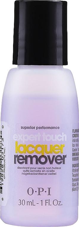 Жидкость для снятия лака с цитрусом - O.P.I Expert Touch