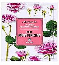 Духи, Парфюмерия, косметика Тканевая маска для лица - Mamonde Flower Essential Mask Rose Moisturizing