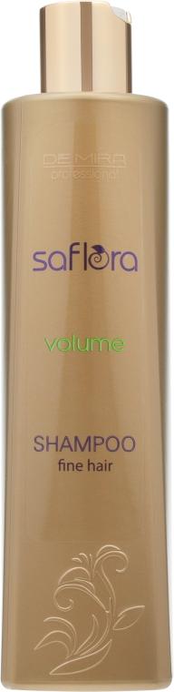 Шампунь для придания объема - Demira Professional Saflora Volume