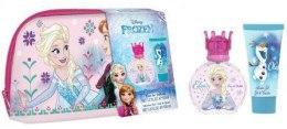 Духи, Парфюмерия, косметика Disney Princess Frozen Girl - Набор (edt/50ml + sh/gel/100ml + bag)