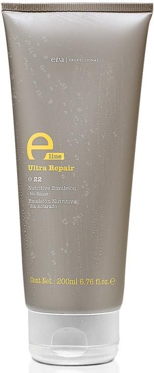 Увлажняющий крем кондиционер для поврежденных волос - Eva Professional E-Line @22 Nutritive Emulsion