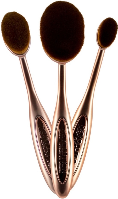 Набор - Makeup Revolution Precision Contour Set (brush/3шт)