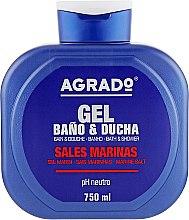 """Духи, Парфюмерия, косметика Гель для душа """"Морская соль"""" - Agrado Sea Salt Bath Gel"""