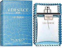 Парфумерія, косметика Versace Man Eau Fraiche - Туалетна вода