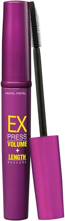 Тушь для суперобъема и удлинения ресниц - Unice Pastel Express Volume Length Mascara
