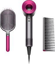 Духи, Парфюмерия, косметика Фен для волос с набором фирменных расчесок, фуксия - Dyson Supersonic
