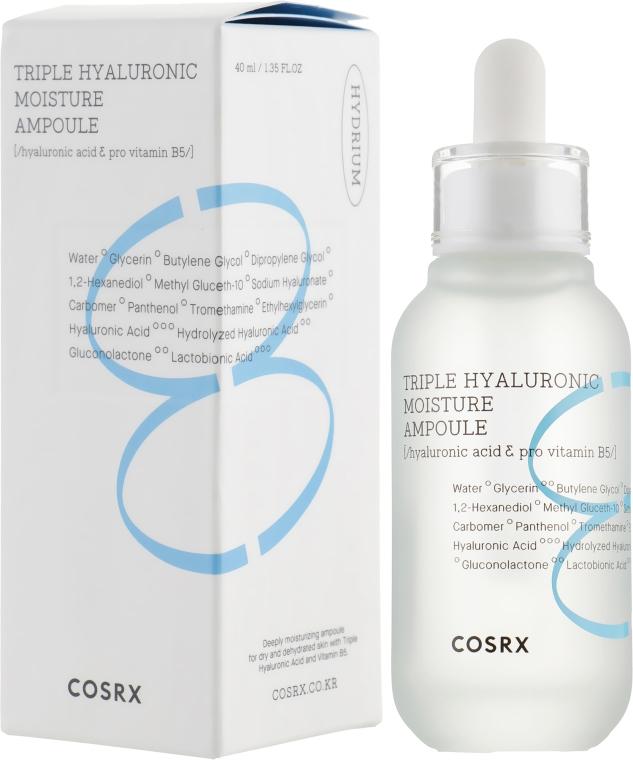 Увлажняющая ампула для лица - Cosrx Hydrium Triple Hyaluronic Moisture Ampoule