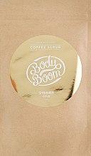Духи, Парфюмерия, косметика Кофейный скраб для тела - BodyBoom Coffe Scrub Shimmer Gold
