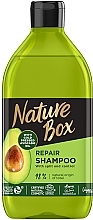 Духи, Парфюмерия, косметика Шампунь для восстановления волос и против секущихся кончиков с маслом авокадо холодного отжима - Nature Box Repair Vegan Shampoo with cold pressed Avocado oil