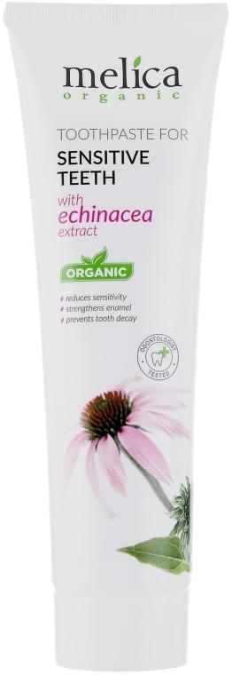 Зубная паста c экстрактом эхинацеи - Melica Organic
