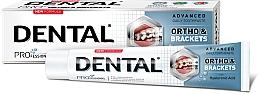 Духи, Парфюмерия, косметика Зубная паста для тщательного очищения зубов - Dental Pro Ortho&Brackets