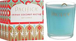 Духи, Парфюмерия, косметика Соевая свеча - Pacifica Indian Coconut Nectar Soy Candle