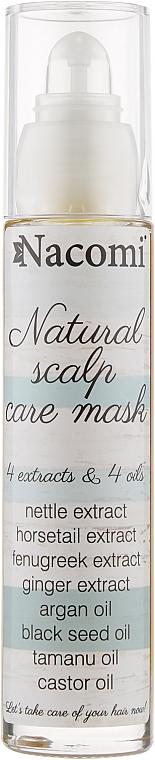 Маска для кожи головы и волос - Nacomi Natural Hair Mask