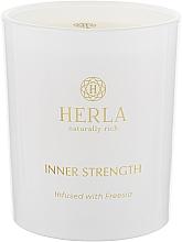Духи, Парфюмерия, косметика Ароматическая свеча - Herla Inner Strength Candle