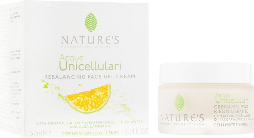 Крем-гель для лица восстанавливающий баланс - Nature's Rebalancing Face Gel Cream