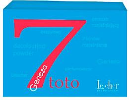"""Духи, Парфюмерия, косметика Осветлитель для волос """"Деколорант"""" (банка) - Lecher Professional Geneza 7 Toto Decoloring Powder"""