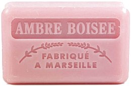 "Духи, Парфюмерия, косметика Марсельское мыло ""Древесный янтарь"" - Foufour Savonnette Marseillaise Ambre Boisee"