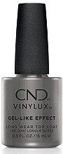Духи, Парфюмерия, косметика Закрепитель для лака с эффектом гелевого покрытия - CND Vinylux Gel-Like Effect Top