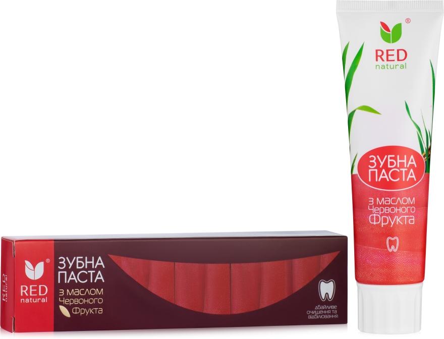 Зубная паста с маслом красного фрукта - Red Natural Toothpaste