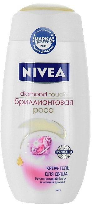 Крем-гель для душа «Бриллиантовая роса» - Nivea Bath Care Diamond Touch Shower Gel