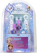 Духи, Парфюмерия, косметика Набор для маникюра с емкостью для хранения - Markwins Frozen