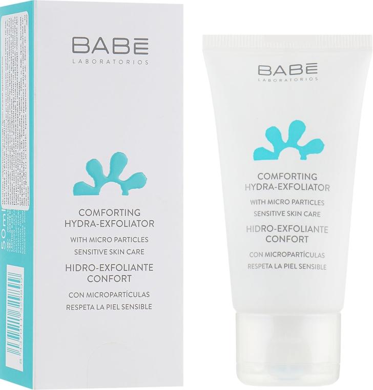 Мягкий увлажняющий скраб для лица - Babe Laboratorios Comforting Hydra-Exfoliator
