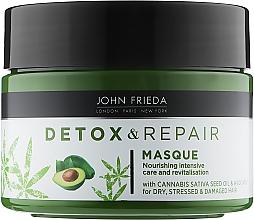 Духи, Парфюмерия, косметика Питательная маска для интенсивного восстановления волос - John Frieda Detox & Repair Masque