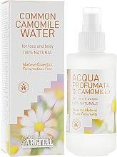 Духи, Парфюмерия, косметика Ароматическая тонизирующая вода для лица и тела Ромашка - Argital Common Camomile Water