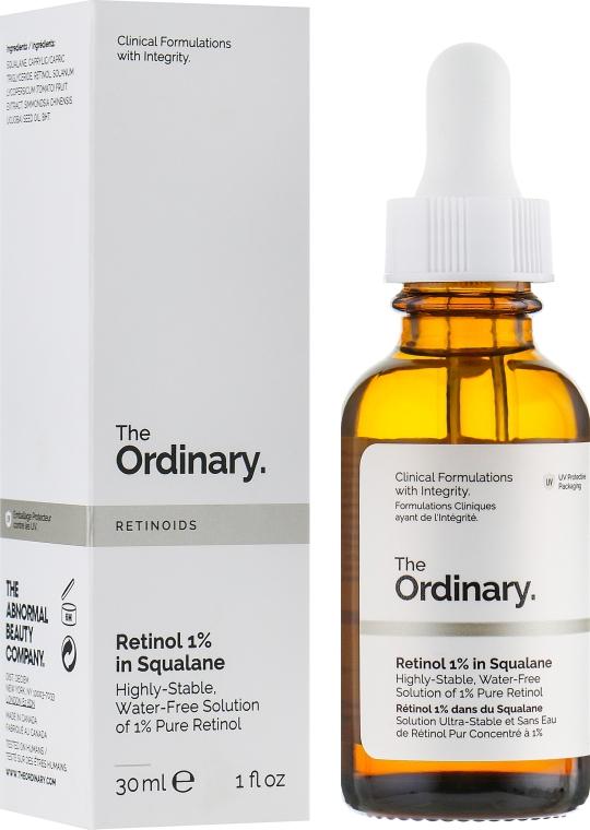 Сыворотка с ретинолом 1% в Сквалане - The Ordinary Retinol 1% in Squalane