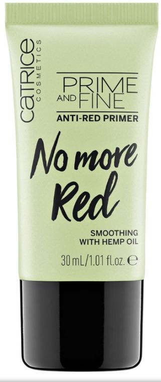 "Праймер для лица ""Против красноты"" - Catrice Prime And Fine Anti-Red Primer"