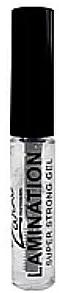 Гель для бровей сильной фиксации с эффектом ламинирования - Zario Professional Lamination Super Strong Gel