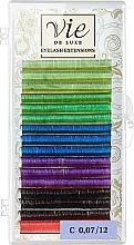 Духи, Парфюмерия, косметика Ресницы в ленте, разноцветные С 0,07/12 - Vie de Luxe