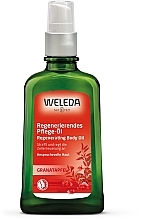 Духи, Парфюмерия, косметика Восстанавливающее масло для тела с гранатом - Weleda Pomegranate Regenerating Oil