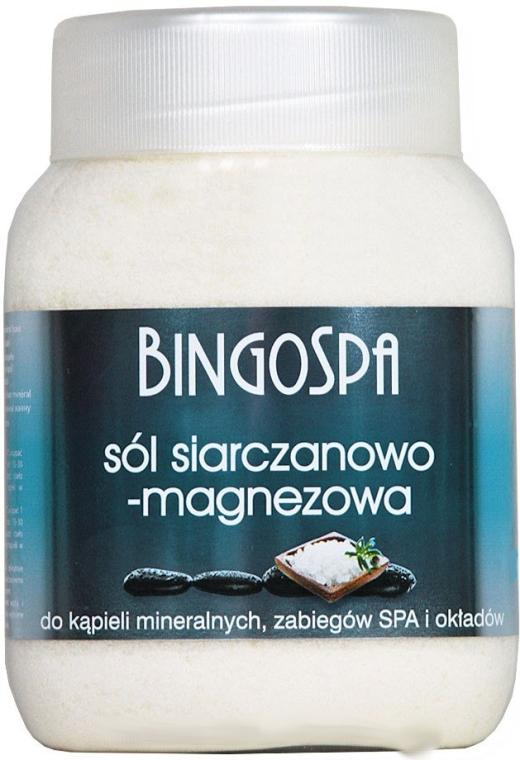 Соль для ванны с сульфатом магния - BingoSpa Salt And Magnesium Sulphate