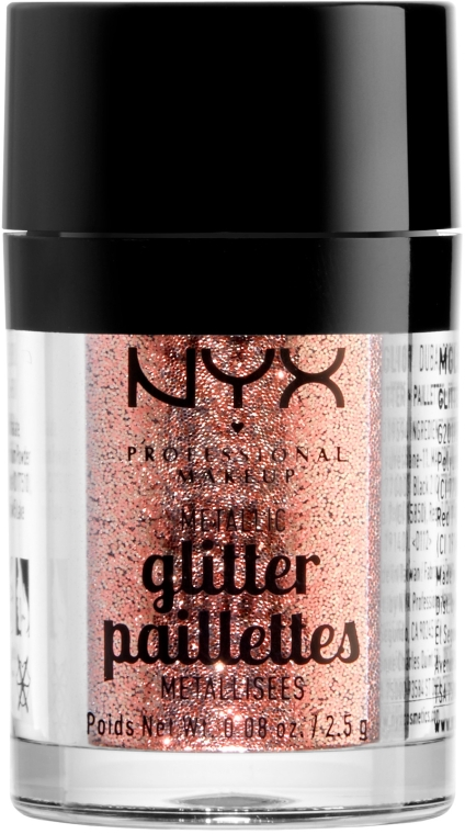 Глиттер для лица и тела - NYX Professional Makeup Metallic Glitter