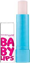 Духи, Парфюмерия, косметика Бесцветный бальзам для губ с SPF защитой - Maybelline Baby Lips Lip Balm SPF 20