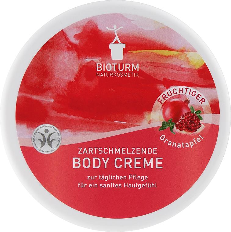 "Крем для тела ""Гранат"" - Bioturm Pomegranate Body Cream"