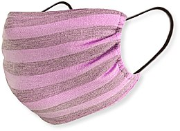 Парфумерія, косметика Маска трикотажна багаторазова з кишенею, рожева - Piel Cosmetics Safe Care