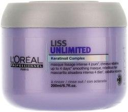 Духи, Парфюмерия, косметика Разглаживающая маска для сухих и непослушных волос - L'oreal Professionnel Liss Unlimited Masque