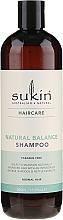 Духи, Парфюмерия, косметика Шампунь для нормальных волос - Sukin Natural Balance Shampoo