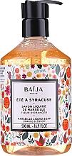 Духи, Парфюмерия, косметика Жидкое марсельское мыло - Baija Ete A Syracuse Marseille Liquid Soap