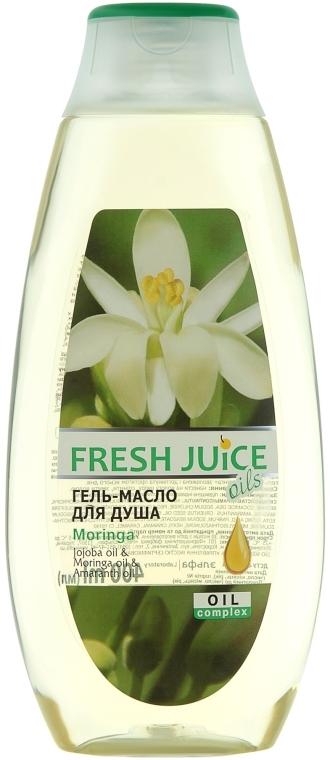 """Гель-масло для душа """"Моринга"""" - Fresh Juice Oils Moringa"""