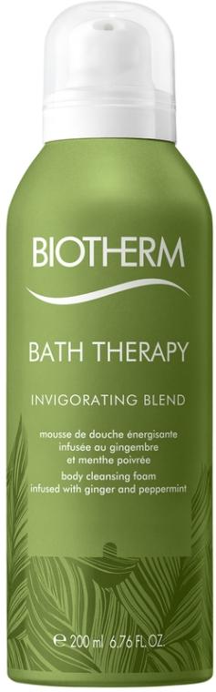 Пена для душа с экстрактом имбиря и перечной мяты - Biotherm Bath Therapy Invigorating Blend Body Cleansing Foam